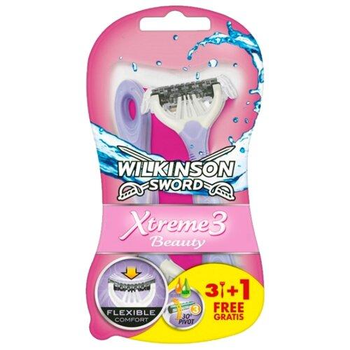Wilkinson Sword Xtreme3 Beauty Бритвенный станок, 4 шт.