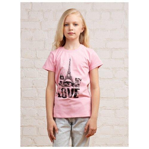 Футболка MOR размер 134-140, розовый, Футболки и майки  - купить со скидкой