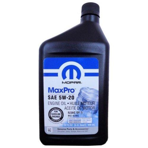 цена на Моторное масло Mopar MaxPro SAE 5W-20 0.946 л