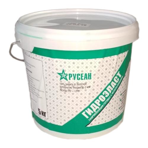 Гидроизоляция Русеан Гидроэласт 5 кг