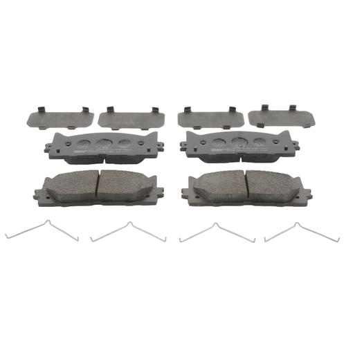 Фото - Дисковые тормозные колодки передние Ferodo FDB1991 для Lexus ES, Toyota Aurion, Toyota Camry (4 шт.) дисковые тормозные колодки передние ferodo fdb1639 для toyota subaru 4 шт