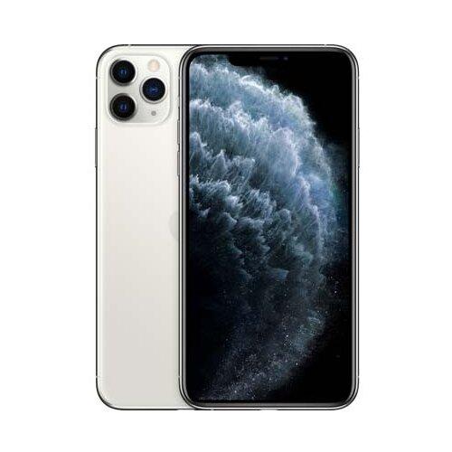 Смартфон Apple iPhone 11 Pro Max 256GB серебристый (MWHK2RU/A) смартфон apple iphone 11 pro 256gb тёмно зелёный