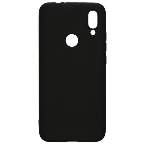 Чехол-накладка LuxCase TPU для Xiaomi Redmi 7 черный чехол luxcase для xiaomi redmi 8a tpu black 62153