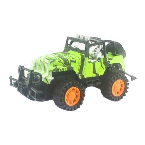 Купить Внедорожник Junfa toys 2806-16A 1:14 зеленый, Радиоуправляемые игрушки