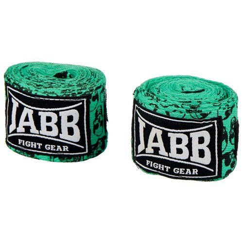 Кистевые бинты Jabb JE-3030 зеленый/черепа