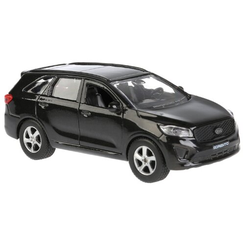 Купить Внедорожник ТЕХНОПАРК KIA Sorento Prime (SB-17-75-KS-N(SL/BL)-WB) 12 см черный, Машинки и техника