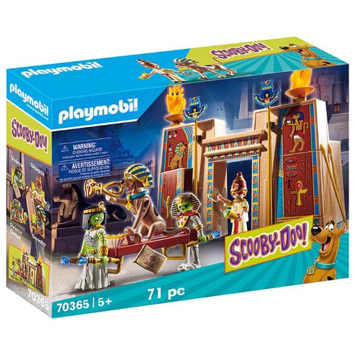 Купить Набор с элементами конструктора Playmobil SCOOBY-DOO! 70365 Приключения в Египте, Конструкторы