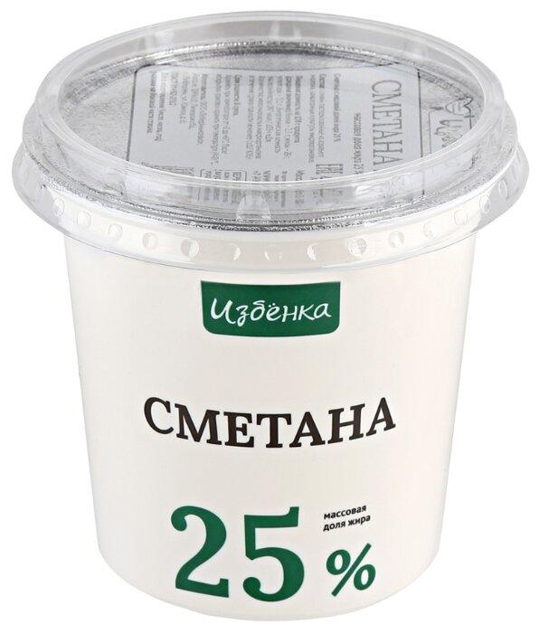 Избёнка Сметана 25%
