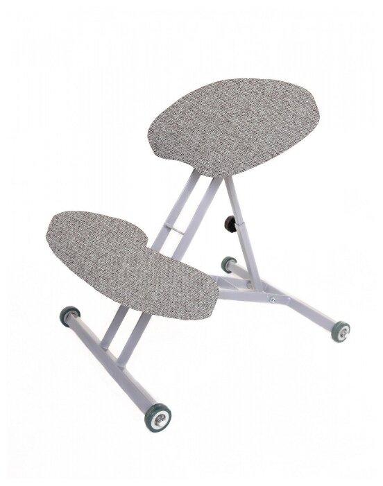 Купить Ортопедический коленный стул «Богатырь» (ткань) светло-серый по низкой цене с доставкой из Яндекс.Маркета