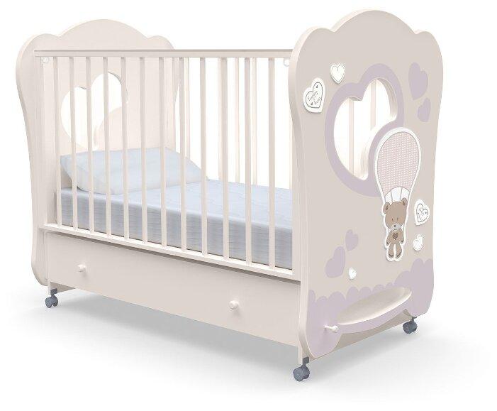 Кроватка Nuovita Stanzione Cute Bear swing (качалка), поперечный маятник
