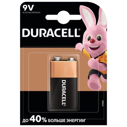 Фото - Батарейка Duracell Basic 9V Крона, 1 шт. батарейка duracell basic aa 18 шт