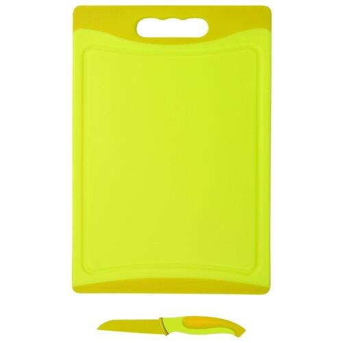 Разделочная доска Bohmann BH 5212 29х20х0,8 см желтый
