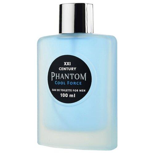 Фото - Туалетная вода Парфюмерия XXI века Phantom Cool Force, 100 мл туалетная вода парфюмерия xxi века aqva blue aqva 95 мл
