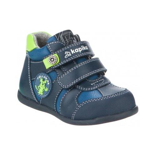 Фото - Ботинки Kapika размер 22, синий ботинки kapika ботинки 41254 1
