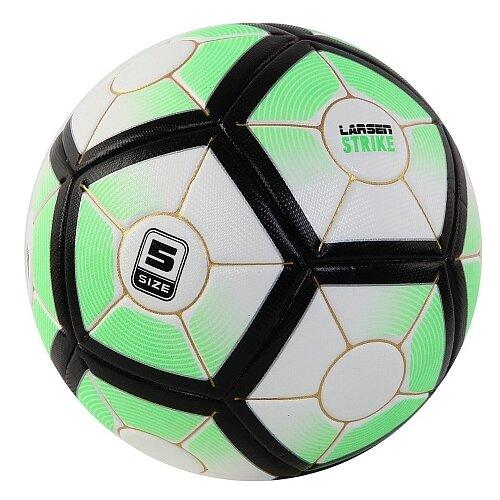 Футбольный мяч Larsen Strike green 5 по цене 1 526