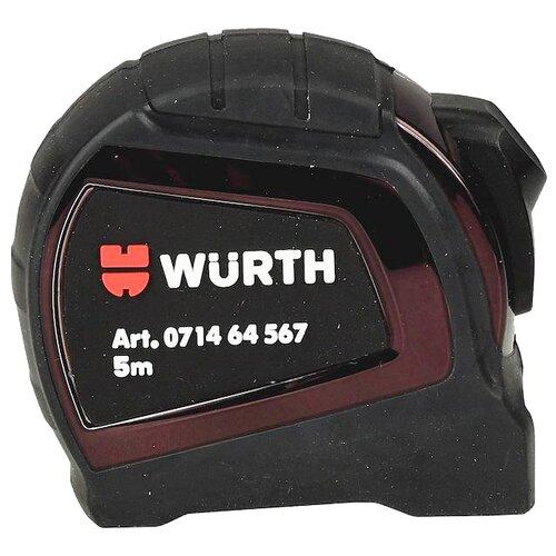 Фото - Измерительная рулетка WURTH 071464 567 25 мм x 5 м измерительная рулетка вихрь 73 11 1 3 25 мм x 10 м