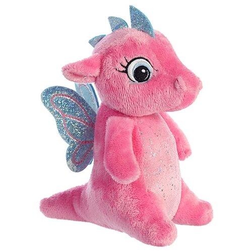Купить Мягкая игрушка Aurora Дракончик розовый 16 см, Мягкие игрушки