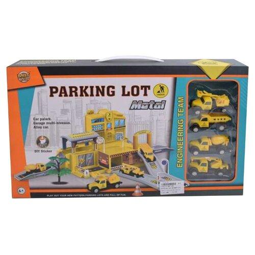 Купить Meet Hot MH-048 желтый, Детские парковки и гаражи