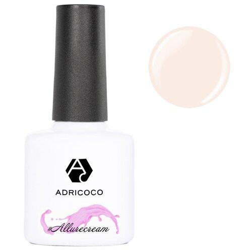 Гель-лак для ногтей ADRICOCO #Allurecream, 8 мл, 04 камуфлирующий светло-персиковый