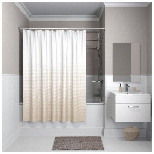 Фото - Штора для ванной комнаты Iddis Basic B02P218i11 штора для ванной комнаты iddis basic b19p218i11