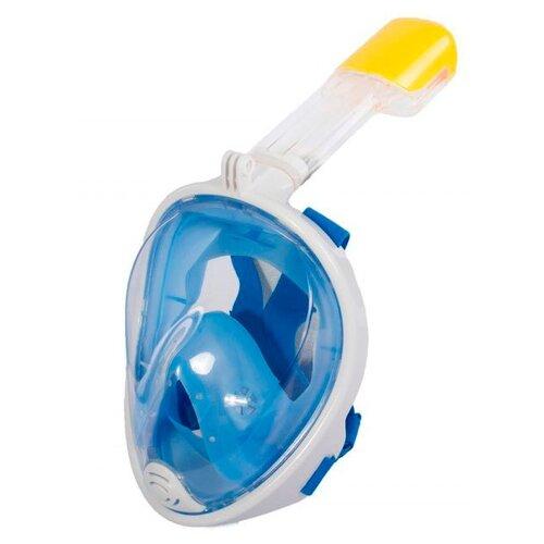 Набор для плавания BRADEX полнолицевой, размер S/M голубой