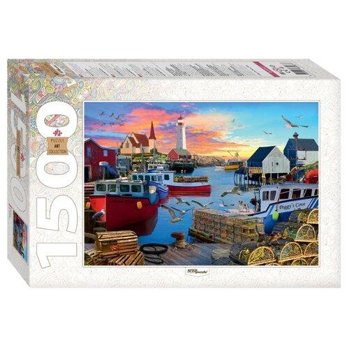 Мозаика puzzle 1500 Бухта Пегги