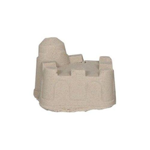 Кинетический песок ДобрБобр базовый, бежевый, 0.5 кг, пластиковый контейнер