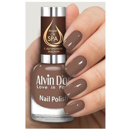 Лак Alvin D'or SPA Argan Oil, 15 мл, оттенок 5036 лак alvin d or spa argan oil 15 мл оттенок 5036