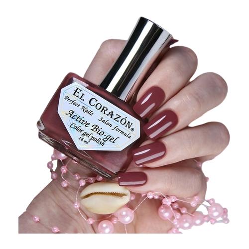 Гель El Corazon Active Bio-gel polish Cream, 16 мл, 423/353 chi luxury black seed oil curl defining cream gel