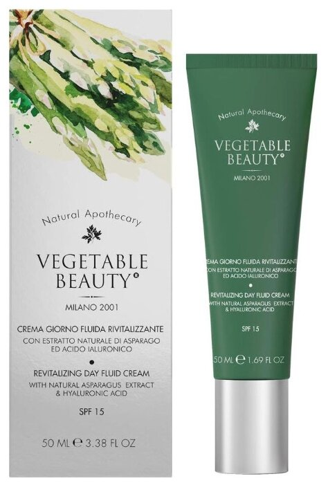 Vegetable Beauty Revitalizing Day Fluid Cream Крем