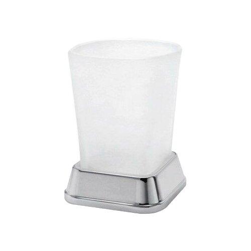 Стакан для зубных щеток WasserKRAFT Amper K-5428, белый