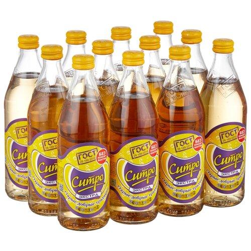 Газированный напиток Старые добрые традиции Экстра-ситро, 0.5 л, 12 шт.