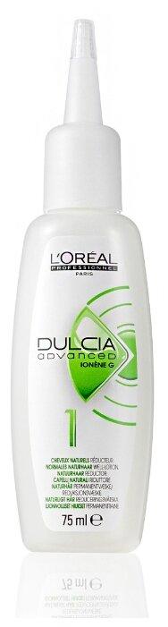 Лосьон 1 L'Oreal Professionnel Dulcia Advanced Natural Hair для натуральных волос 75 мл.