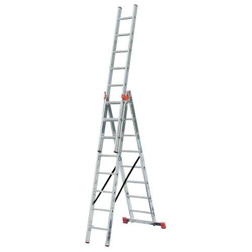 Лестница трансформер 3-секционная KRAUSE TRIBILO 129666