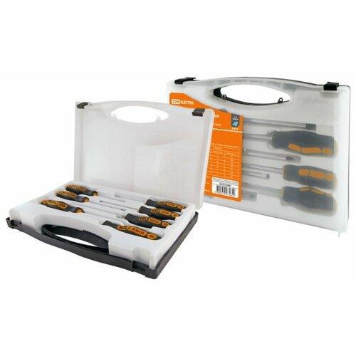 Набор отверток TDM ЕLECTRIC (7 шт.) SQ1013-0206 черный/оранжевый
