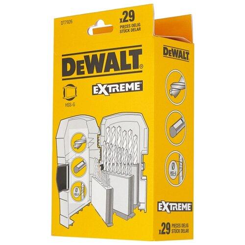 Набор сверл DeWALT DT7926-XJ, 29 шт. набор бит и сверл stanley sta7184 xj 70шт