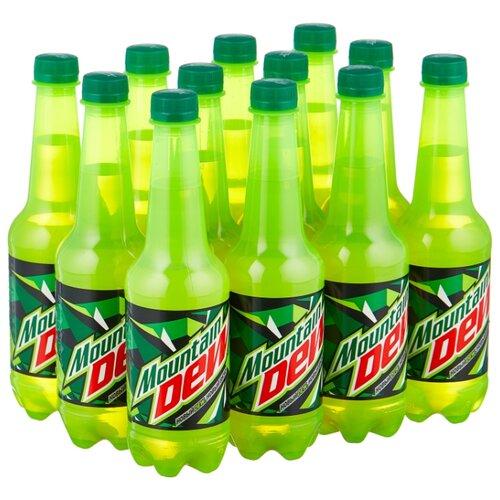 Газированный напиток Mountain Dew Цитрус, 0.5 л, 12 шт.