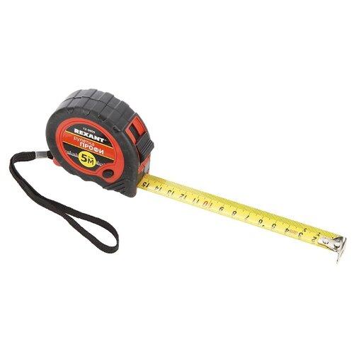 Измерительная рулетка REXANT Профи 12-9005 19 мм x 5 м измерительная рулетка mirax 34011 05 18 18 мм x 5 м