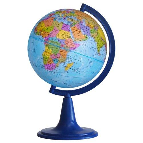Глобус политический Глобусный мир 120 мм (10018) синий