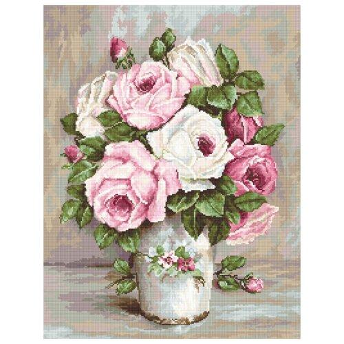 Набор для вышивания Смешанные розы LUCA-S G574