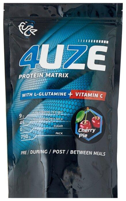 Купить Протеин Fuze Protein Matrix Glutamine + Vitamin C (750 г) вишневый пирог по низкой цене с доставкой из Яндекс.Маркета (бывший Беру)