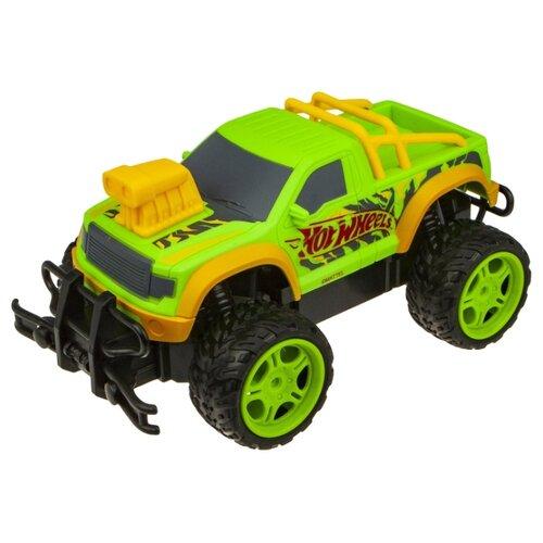 Купить Внедорожник Hot Wheels T14169 1:18 21 см зеленый, Радиоуправляемые игрушки