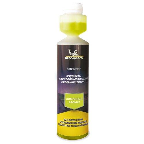 Концентрат жидкости для стеклоомывателя MICHELIN Лимонный аромат, 0.25 л