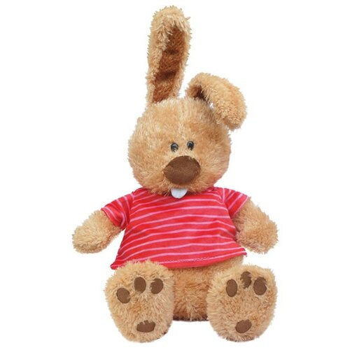 Купить Мягкая игрушка Maxitoys Кролик Ушастик в маечке 25 см, Мягкие игрушки