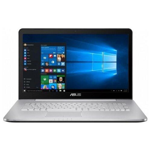 Ноутбук ASUS VivoBook Pro N752VX-GC218T (Intel Core i5 6300HQ 2300MHz/17.3/1920x1080/4GB/1000GB HDD/DVD-RW/NVIDIA GeForce GTX 950M 4GB/Wi-Fi/Bluetooth/Windows 10 Home) 90NB0AY1-M02530 серый ноутбук asus gl752vw t4474t 17 3 1920x1080 intel core i5 6300hq 1 tb 8gb nvidia geforce gtx 960m 2048 мб серый windows 10 90nb0a42 m06610