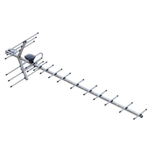 Фото - Уличная DVB-T2 антенна РЭМО BAS-1134-P Диапазон UHF Макси антенна рэмо bas 2323 flat 15f
