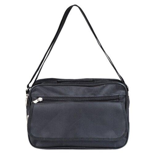 Сумка-планшет мужская Bags Lab через плечо текстиль горизонтальная