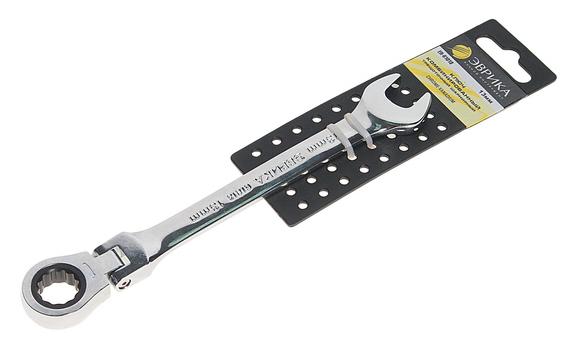 Эврика Ключ трещоточный комбинированный шарнирный 13мм ER-61013H