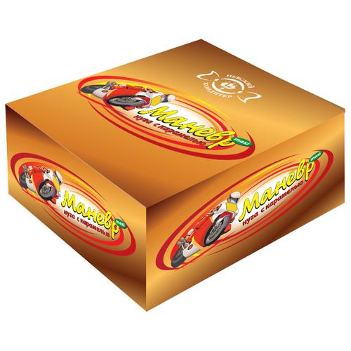 Батончик Невский Кондитер Маневр maxi нуга с карамелью, 45 г, коробка (18 шт.)
