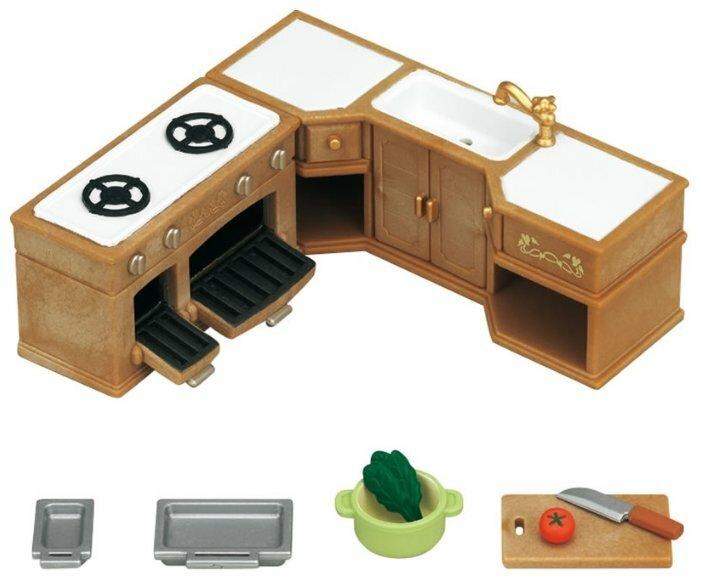 Игровой набор Sylvanian Families Кухонный гарнитур 5222